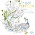 Animal Fantasy - Disegni da Colorare per Vincere lo Stress - Libro