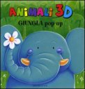 Animali 3 D - Giungla Pop - Up