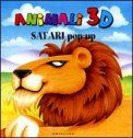 Animali 3 D - Safari Pop-up