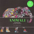 Animali - Colouring Book - Black Premium - Libro