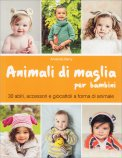 Animali di Maglia per Bambini - Libro