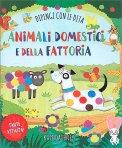 Animali Domestici e della Fattoria - Dipingi con le Dita - Libro