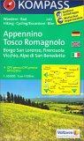 Appennino Tosco Romagnolo - Mappa