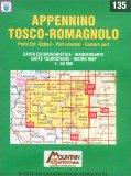 Appennino Tosco-romagnolo - Carta Escursionistica n. 135 — Libro