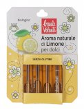 Aroma Naturale di Limone per Dolci - 4 Ampolle