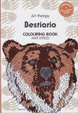 Art Therapy - Bestiario - Colouring Book Anti Stress — Libro