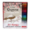 Art Therapy - Giappone - Colouring Book Anti Stress - Cofanetto