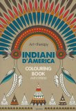 Art Therapy - Indiani D'America - Libro