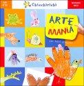 Arte Mania + 9 Pastelli, Pompon, Occhietti e Colla - Libro