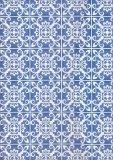 Azulejos - Magneto Blank Book - Grande - Diario