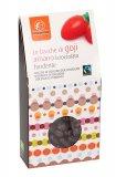 Bacche di Goji Bio Ricoperte di Cioccolato Fondente