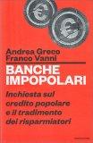 Banche Impopolari - Libro