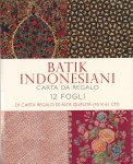 Batik Indonesia - Carta da Regalo — Libro