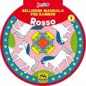 Bellissimi Mandala per Bambini - Vol. 1 Rosso — Libro