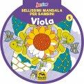 Bellissimi Mandala per Bambini - Vol. 5 Viola — Libro