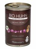 Bio Huhn - Pollo Biologico con Miglio - Alimento per Cani - Lattina