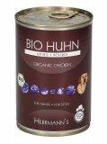 Bio Huhn - Pollo Biologico con Riso - Alimento per Cani - Lattina