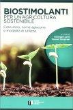 Biostimolanti per un'Agricoltura Sostenibile — Libro