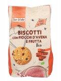 Biscotti con Fiocchi d'Avena e Frutta Bio