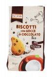 Biscotti con Gocce di Cioccolato Bio