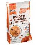 Biscotti Integrali con Mela e Uvetta