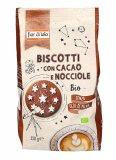 Biscotto con Cacao e Nocciole Bio
