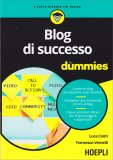 Blog di Successo for Dummies - Libro