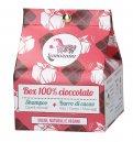 """Box 100% """"Cioccolato"""" - Shampoo + Burro di Cacao"""