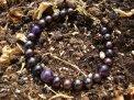 Bracciale Perle Nere Fresh e Ametista - 83/13