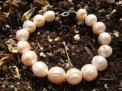 Bracciale Perle Rosa Barocche - 78/13