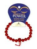 Bracciale Power - Diaspro Rosso