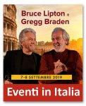 Bruce Lipton e Gregg Braden per la prima volta a Roma