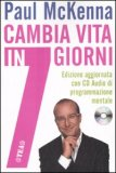 Cambia Vita in 7 Giorni + CD Audio — Libro