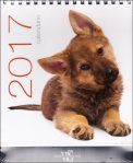 Cani - Calendario da Tavolo 2017