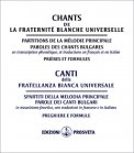 Canti della Fratellanza Bianca Universale — Libro