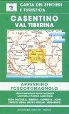 Carta dei Sentieri e Turistica - Casentino Val Tiberina — Libro