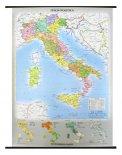 Carta Murale: Italia Fisica-Politica - Fronte/Retro