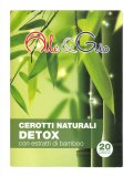 Cerotti Naturali Detox con Estratti di Bamboo - 20 Pezzi