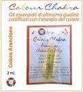 Colour Chakra Oil - Arancione - 2 ml