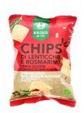 Chips di Lenticchie e Rosmarino Bio