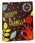 Cioccolato con Moringa e Granella di Fave di Cacao