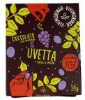 Cioccolato con Moringa e Uvetta Nera e Verde