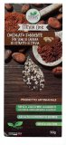 Cioccolato Extrafondente con Semi di Canapa e Estratto di Stevia