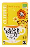 CLIPPER - WARM & SPICY Organic Indian Chai Tea - Tè nero speziato biologico