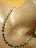 Collana in Smeraldo naturale, rosario - Cod 14