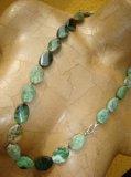 Collana in Opale naturale Australiano verde - Cod 1