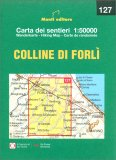 Colline di Forlì - Carta dei Sentieri n. 127 — Libro
