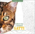 Colora tra i Numeri - Gatti - Libro