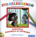 Colorleggendo - Ciabattina Coccinella al Contrario  - Libro
