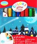 Colors Glitter Ice - 9 Pennarelli con Gel a Paillettes